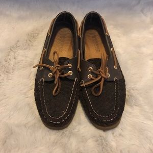 Suede Quilted Sperry Boat Shoe